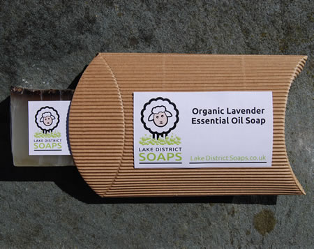 Organic Lavender Essential Oil Soap