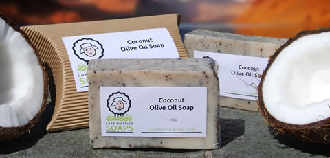 Coconut Olive Oil Soap