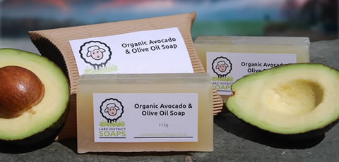 Organic Avocado & Olive Oil Soap