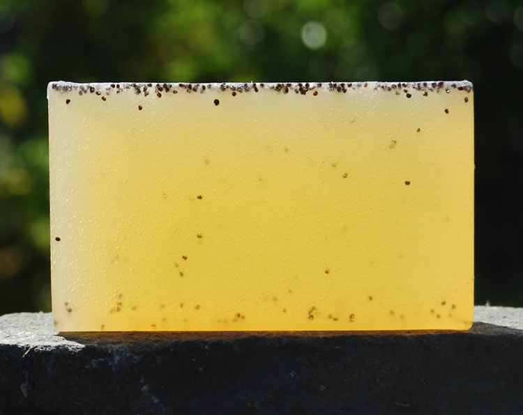 Organic Tea Tree & Poppy Seed Soap