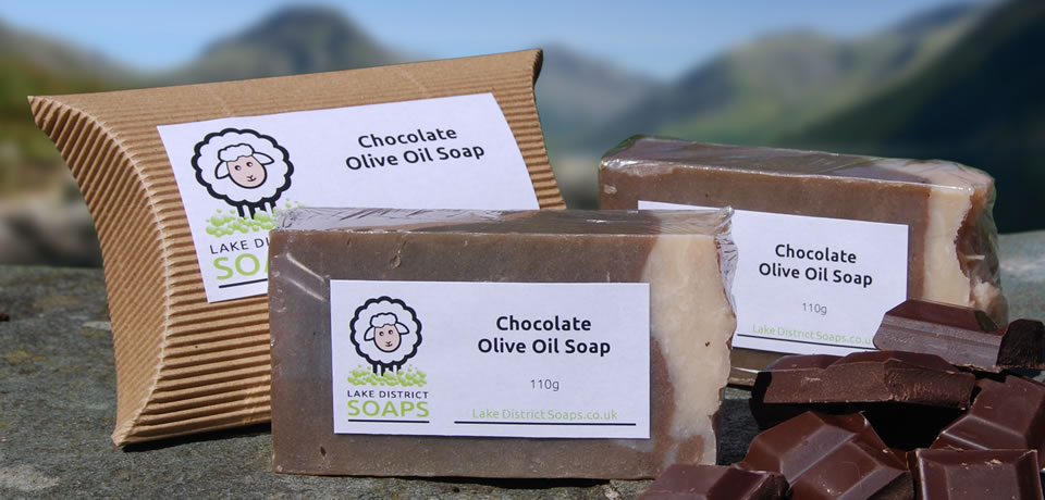Chocolate Olive Oil Soap